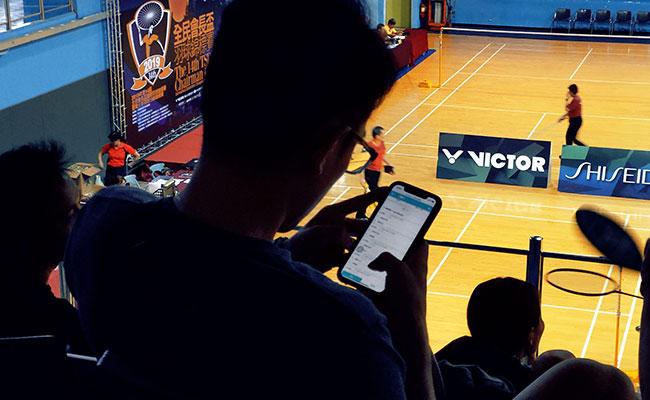 康凡賽務系統-利用手機觀看賽事